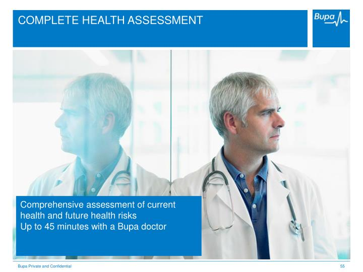 COMPLETE HEALTH ASSESSMENT