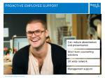 proactive employee support