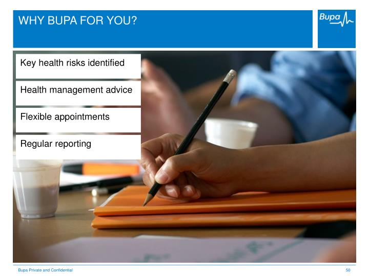 WHY BUPA FOR YOU?