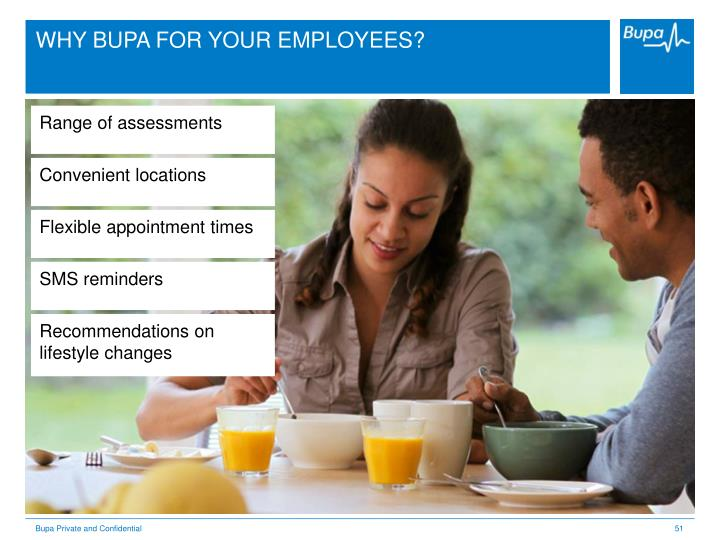 WHY BUPA FOR YOUR EMPLOYEES?