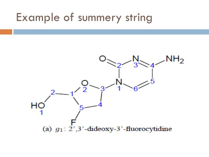 Example of summery string