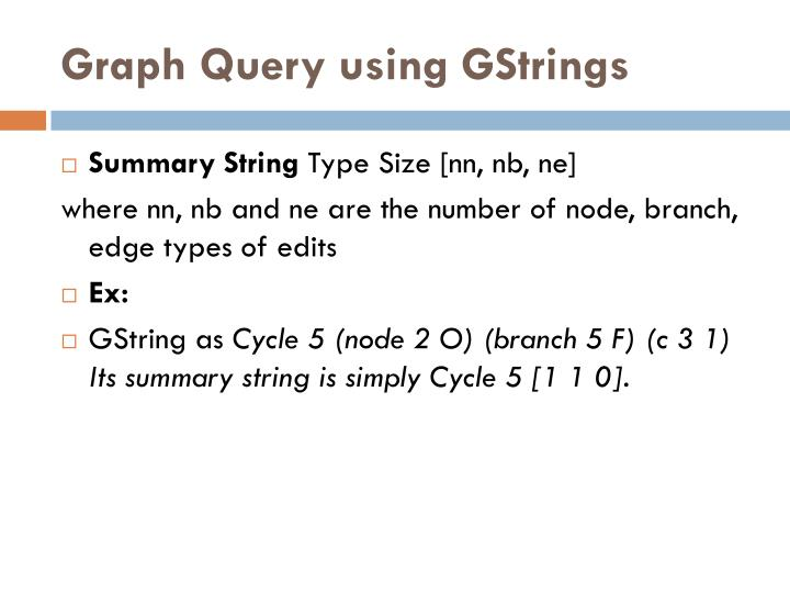 Graph Query using