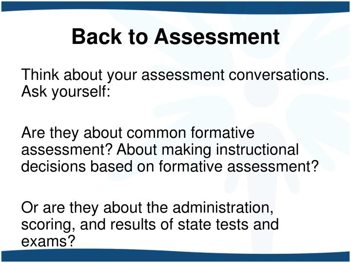 Back to Assessment