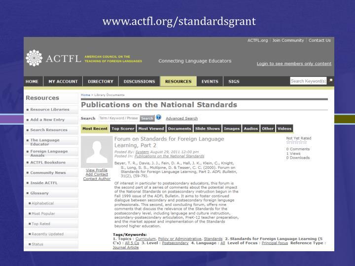 www.actfl.org/standardsgrant
