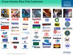 cross industry blue chip customers