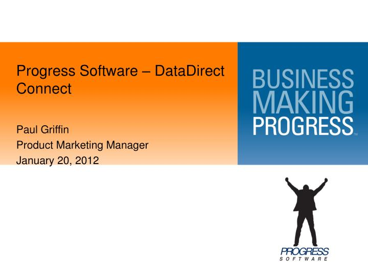 Progress software datadirect connect
