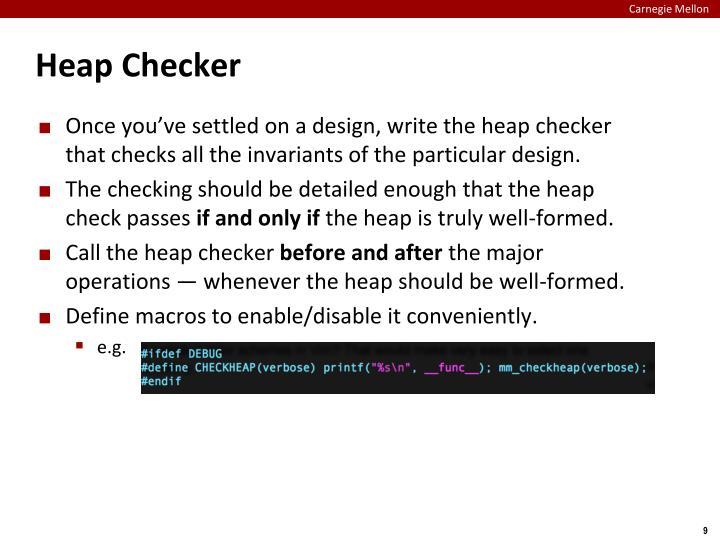 Heap Checker