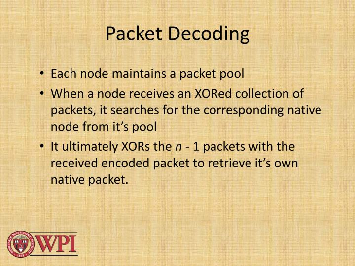 Packet Decoding
