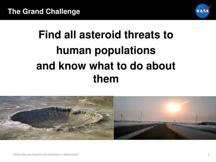 The Grand Challenge