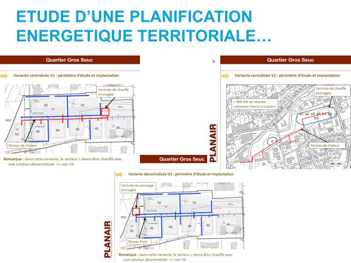 ETUDE D'UNE PLANIFICATION ENERGETIQUE TERRITORIALE…