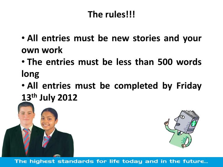 The rules!!!