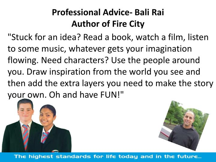 Professional Advice-