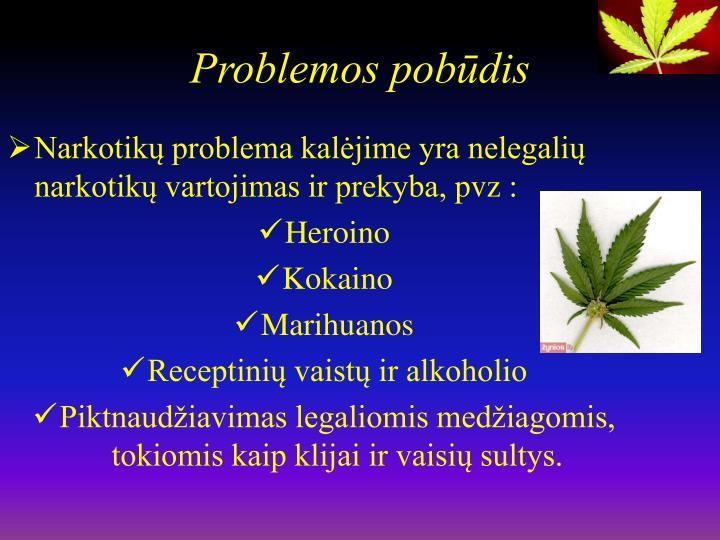Problemos pobūdis