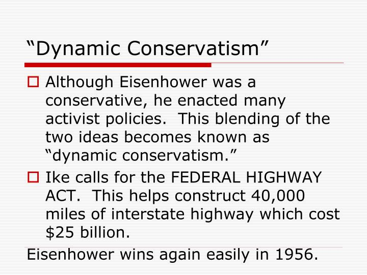 """Dynamic Conservatism"""