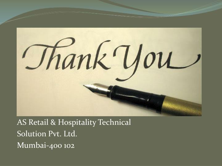 AS Retail & Hospitality Technical