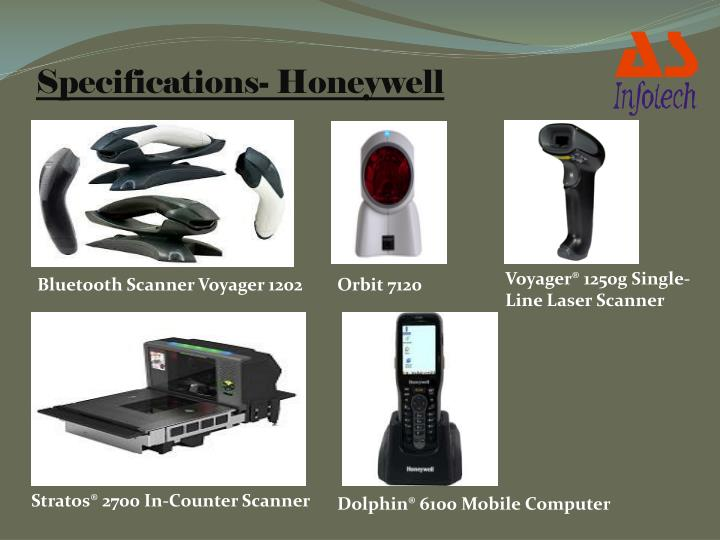 Specifications- Honeywell