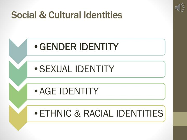 Social & Cultural Identities
