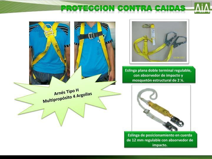 PROTECCION CONTRA CAIDAS