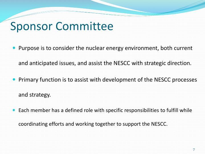Sponsor Committee