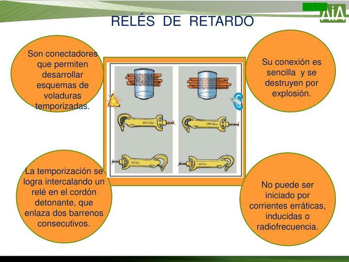 RELÉS  DE  RETARDO
