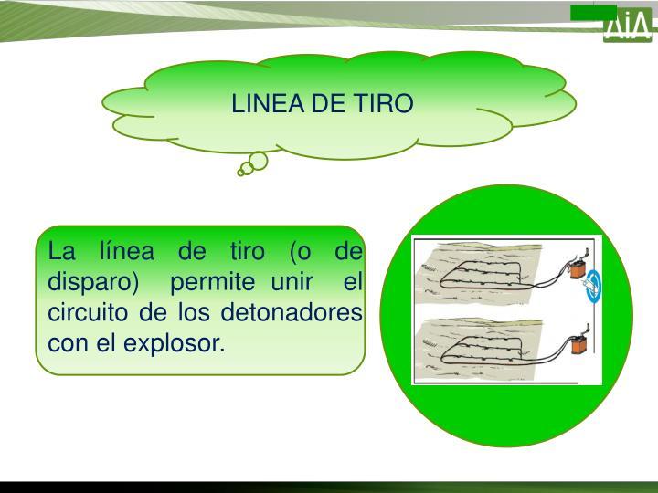 LINEA DE TIRO