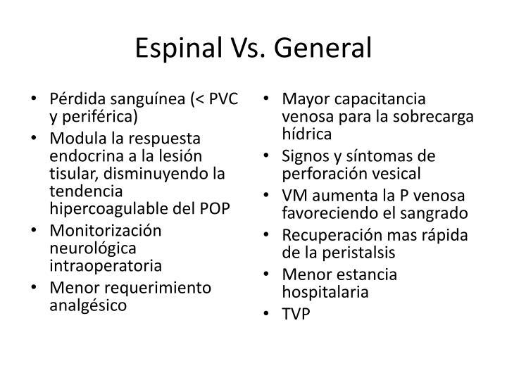 Espinal Vs. General