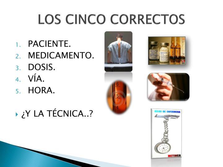 LOS CINCO CORRECTOS