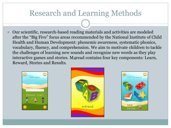 Research and Learning Methods