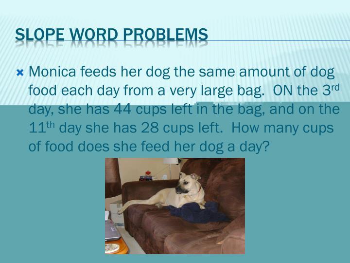 Monica feeds