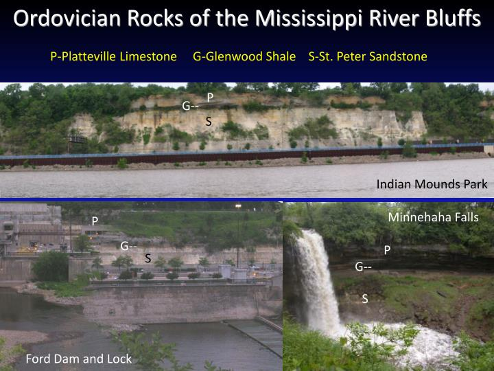 Ordovician Rocks of the Mississippi River Bluffs