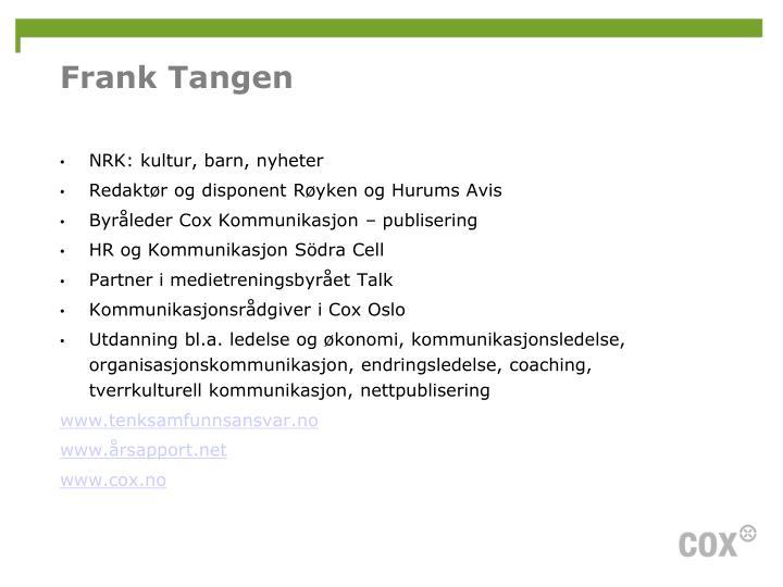 Frank Tangen
