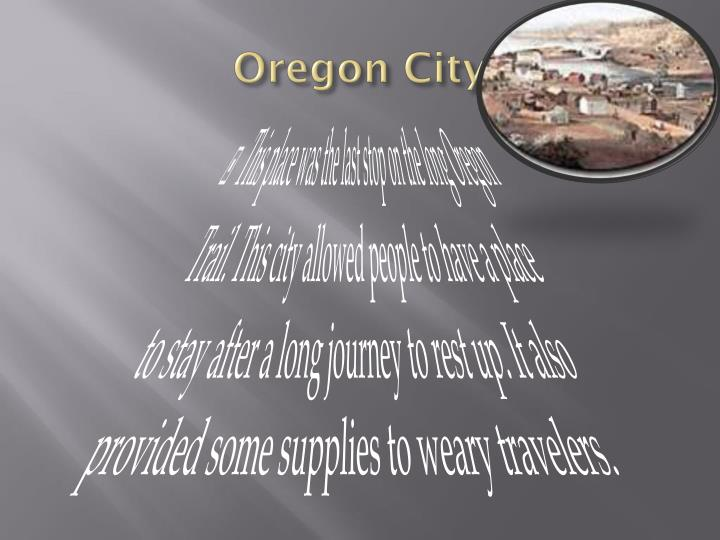 Oregon City