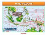 wind velocity