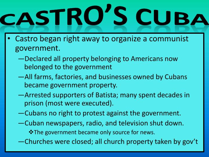 Castro's Cuba