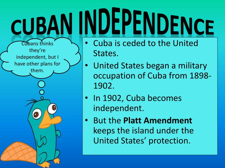 Cuban Independence