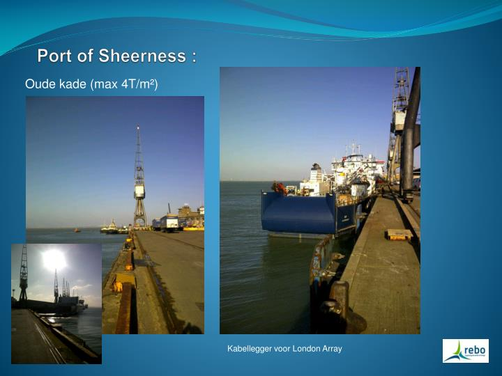 Port of Sheerness :
