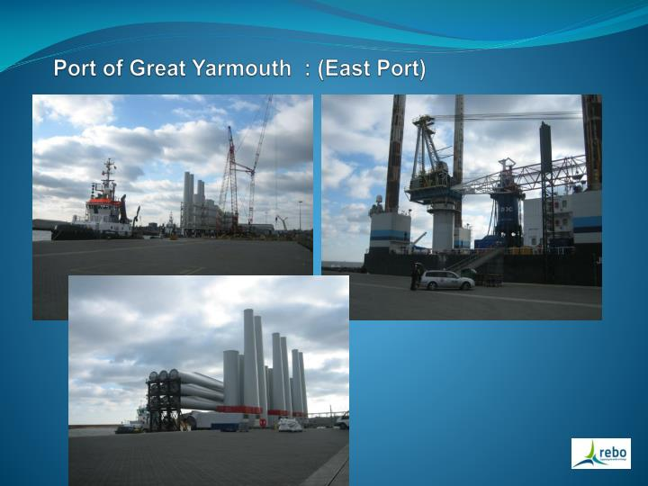 Port of Great Yarmouth  : (East Port)