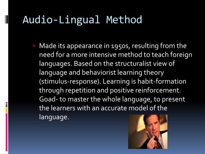 Audio-Lingual Method