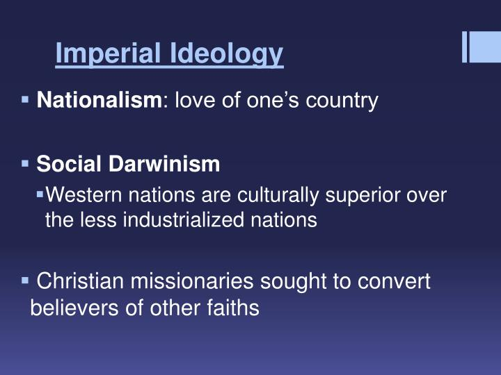 Imperial Ideology