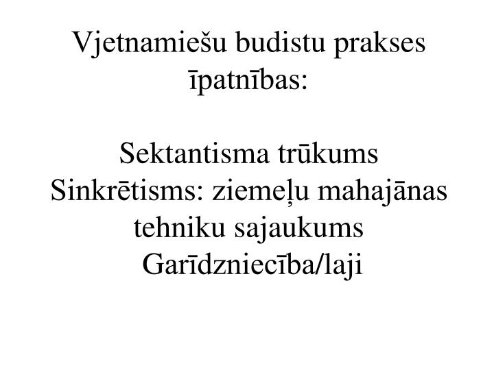 Vjetnamiešu