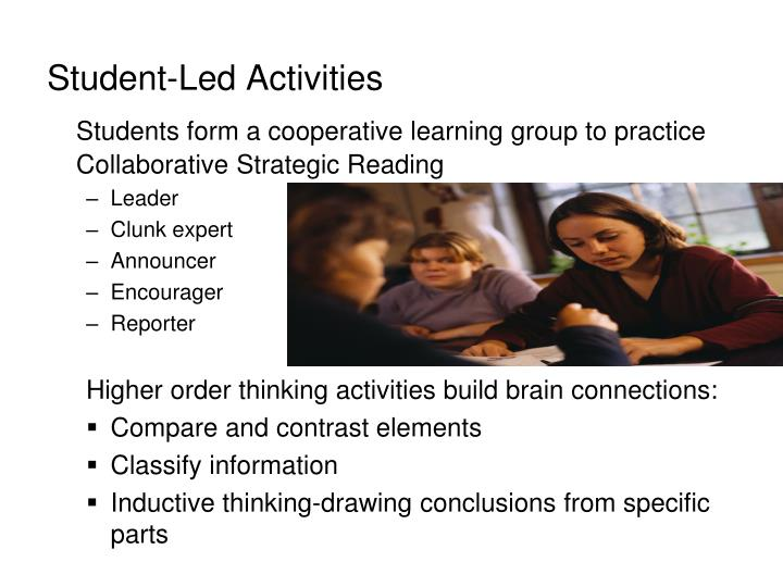 Student-Led Activities