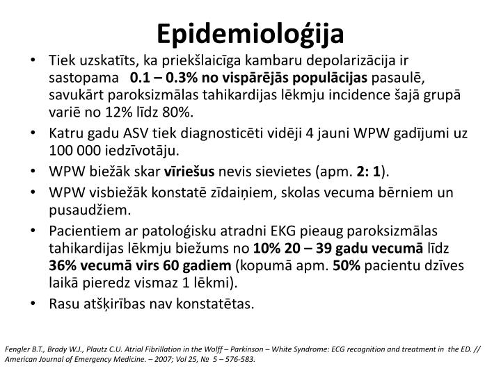 Epidemioloģija