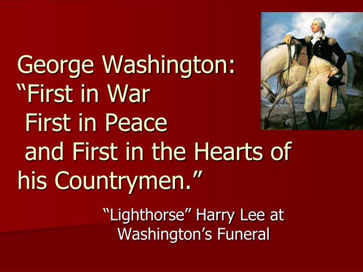 George Washington: