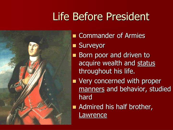 Life Before President