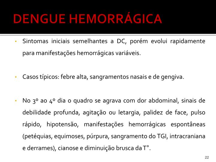 DENGUE HEMORRÁGICA