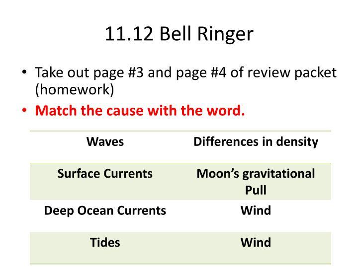 11.12 Bell Ringer