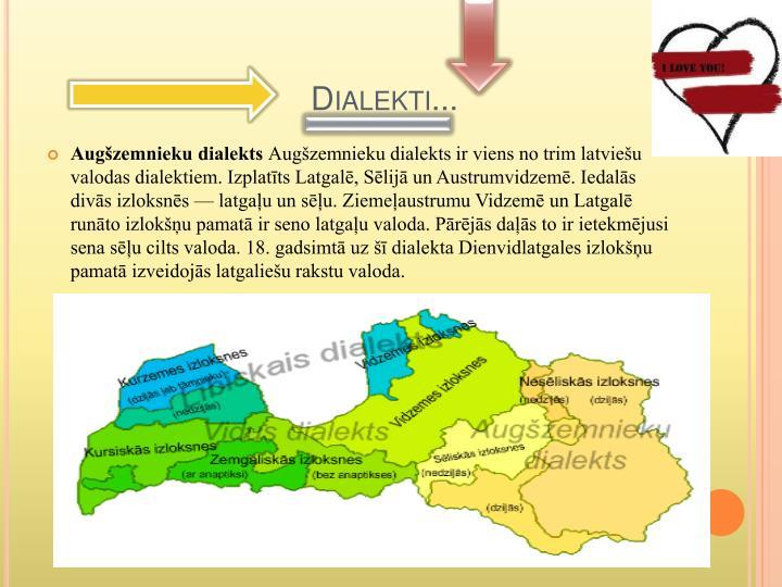 Dialekti...