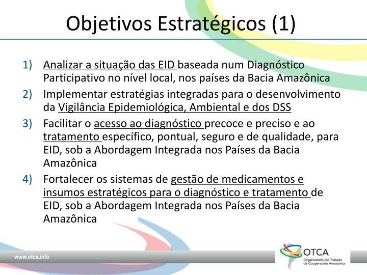 Objetivos Estratégicos (1)