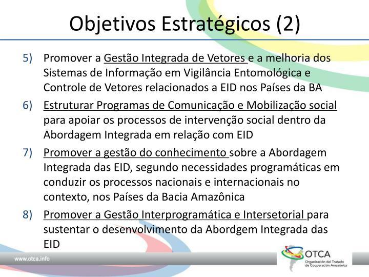 Objetivos Estratégicos (2)