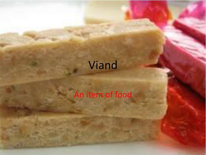 Viand